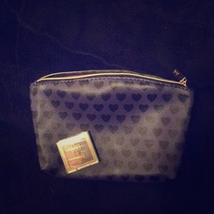 Handbags - Cute Purple Heart Makeup Bag & Matching Eye Shadow